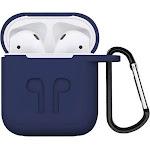 SaharaCase - Case Kit for Apple AirPods - Navy Blue
