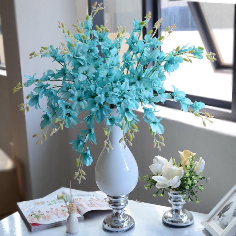 Colors Artificial Wholesale Silk Flowers Singapore Orchid