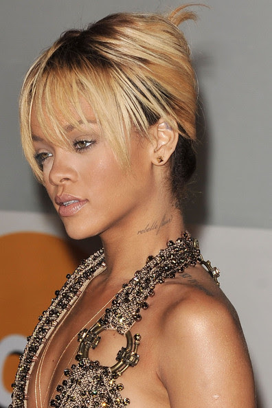 Rihanna in Adele and Others Arrive at the 2012 Brit Awards in London