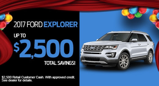 New Ford Specials at Tony Serra Ford in Talladega, AL