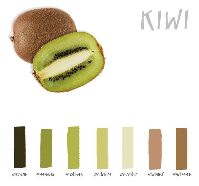 Kiwi Color Palette
