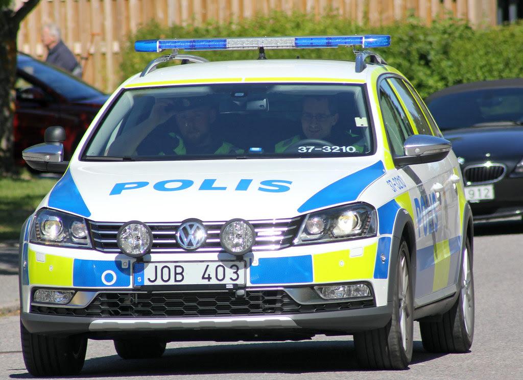 Brand New Police Car