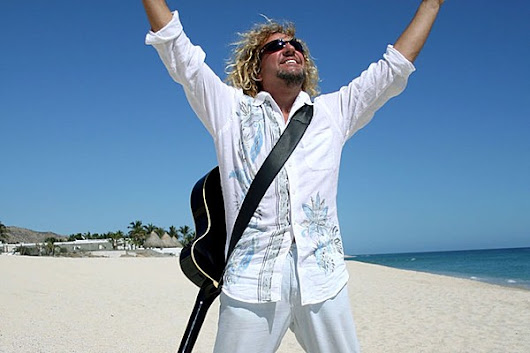 Watch Sammy Hagar's New 'No Worries' Video