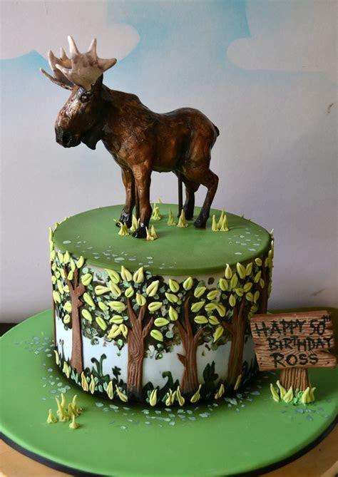 Moose cake   moose cakes in 2019   Moose cake, Birthday