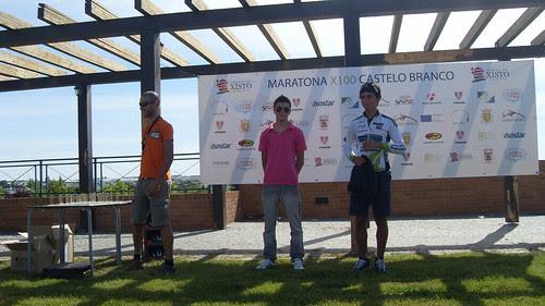 Ángel, 2º clasificado de Sub19 en la Maratona X100
