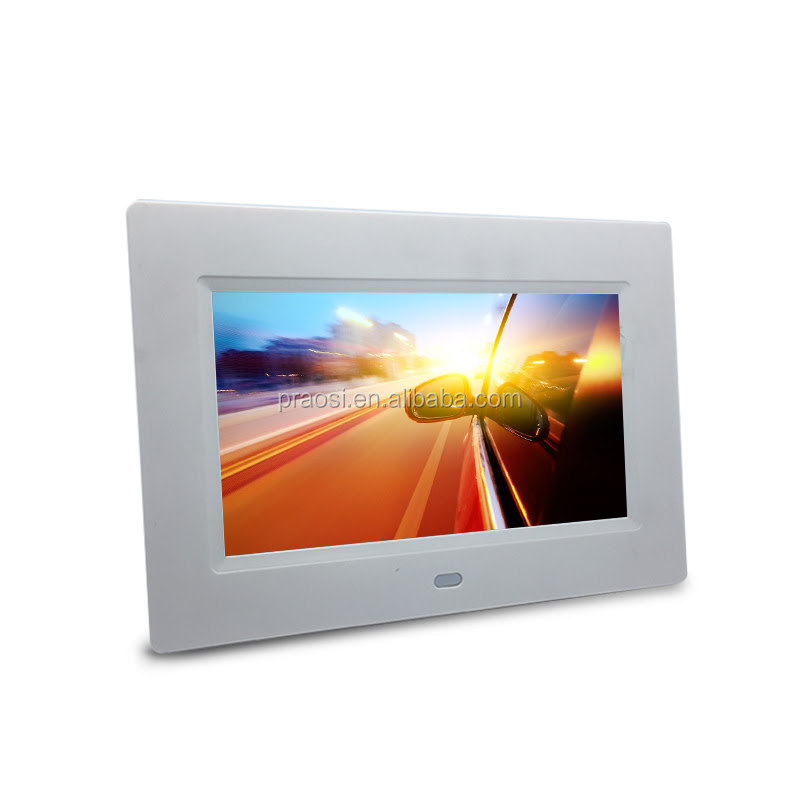 Video Loop Lcd Screen 1080p Digital Photo Frame 7 Inches Buy Hd