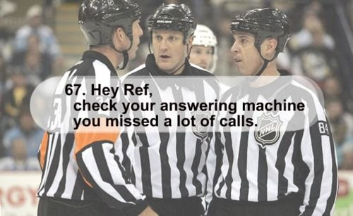 ref funny, ref check your phone, ref missed calls