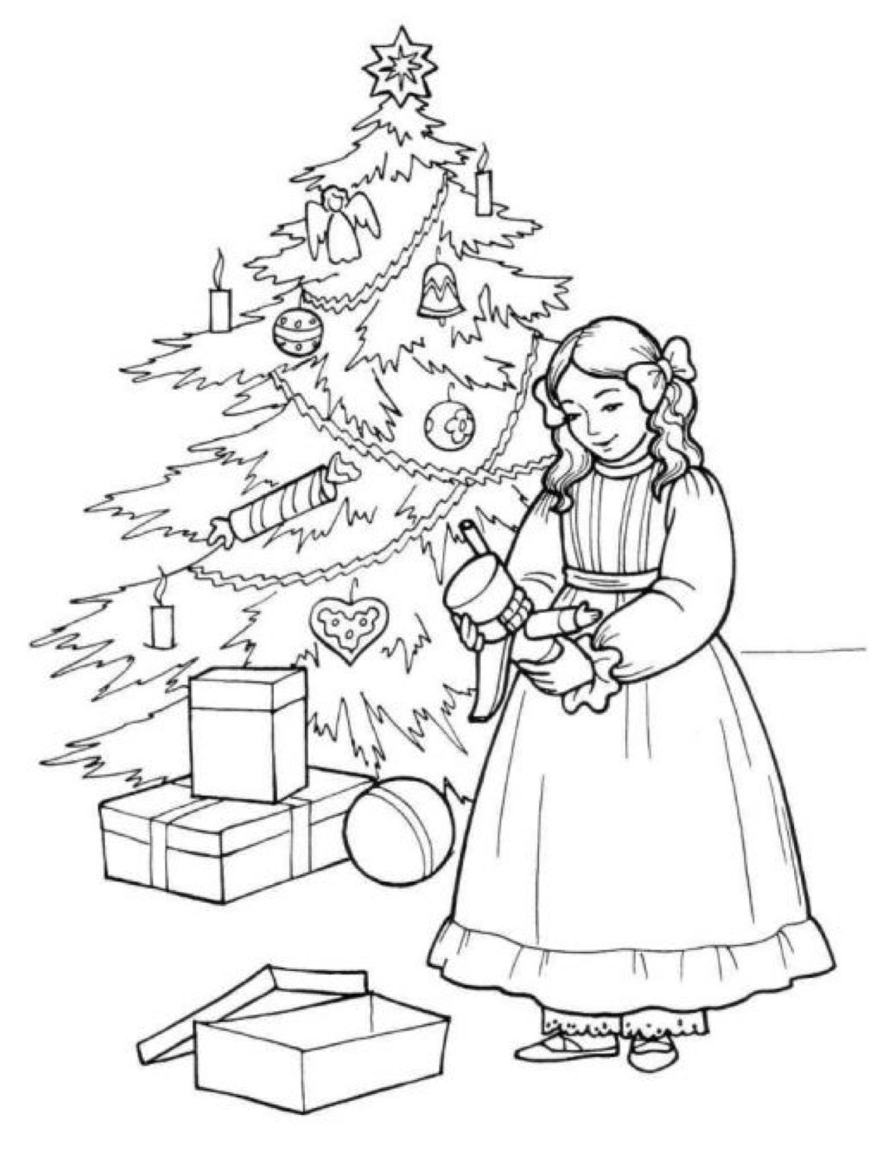 Sugar Plum Fairy Coloring Page at GetColorings.com | Free ...