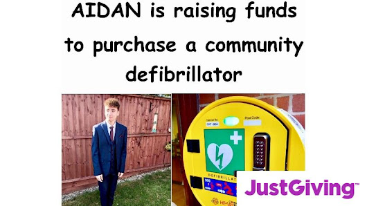 Help raise £1600 to purchase a community defibrillator in coded case with 24 hour access which will be situated outside the CO OP Ditton (Chestnut Lodge) Widnes