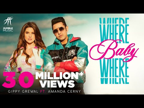 Where Baby Where Gippy Grewal Lyrics With Hindi Meaning