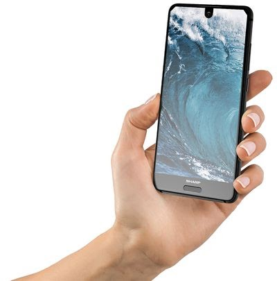Meet Sharp Aquos S2 – Looks like Essential Phone and iPhone 8!