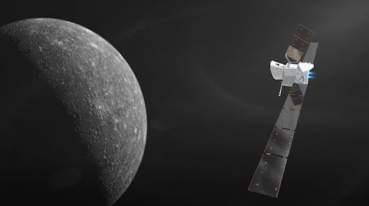 BepiColombo launch live by European Space Agency