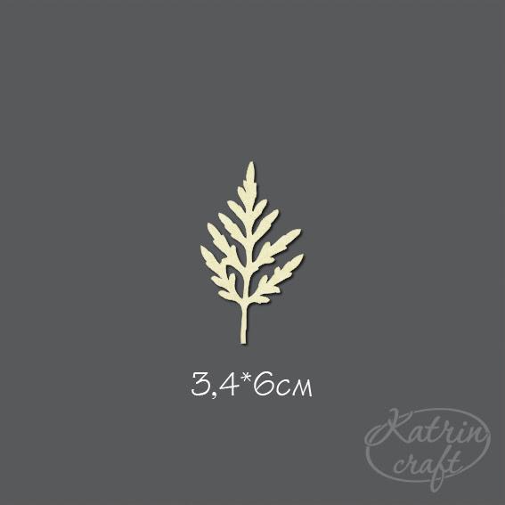 Чипборд Лист ромашки