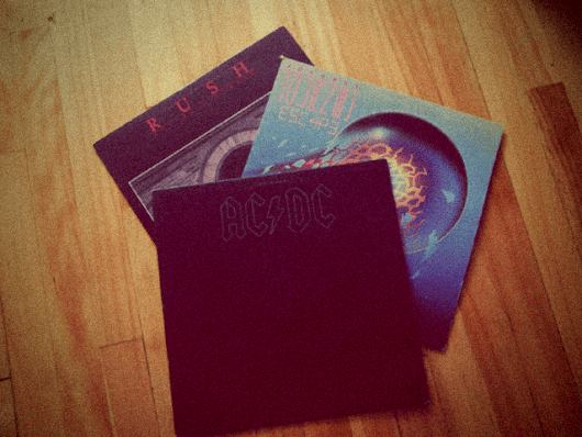 New Vinyls: AC/DC, Rush & Journey