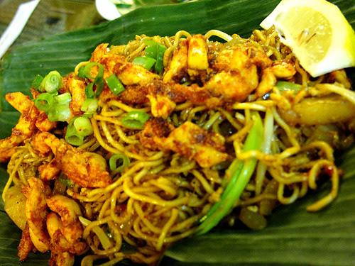 singapore banana leaf mee goreng