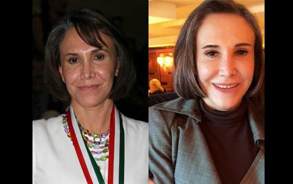 Florinda Meza antes e depois (Foto: Reprodução/Imprensa mexicana)