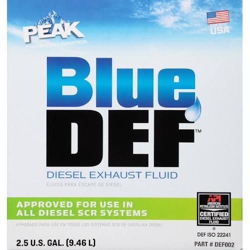 Blue DEF Diesel Exhaust Fluid - 2.5 gallon