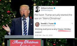 Trump's Phony 'War On Merry Christmas' Exposed In One Glorious 2010 Tweet