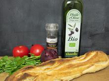 brushetta tomate oignon ciboulette aperitif vegan vegetalien