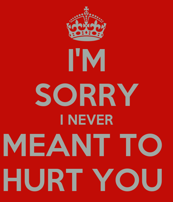 Sorry I Hurt You Quotes For Her Traffic Club
