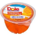 Dole Mandarin Orange Gel Individual Serving In Plastic Cup (4.3 OZ, Pack Of 36)