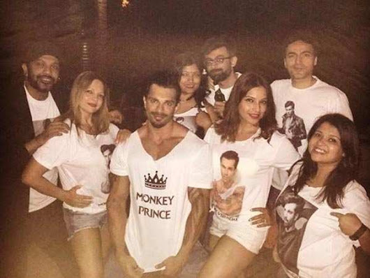 Pics: See how Bipasha Basu is celebrating hubby Karan Singh Grover's birthday in Goa - Times of India