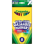 Crayola Classic - Marker - non-permanent - assorted colors - fine - pack of 8