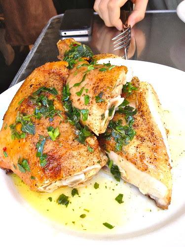 Pollo al forno w salsa verde