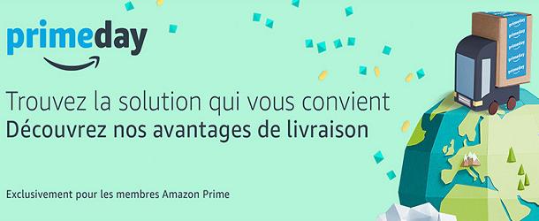 Découvrez nos avantages de livraison Amazon Prime