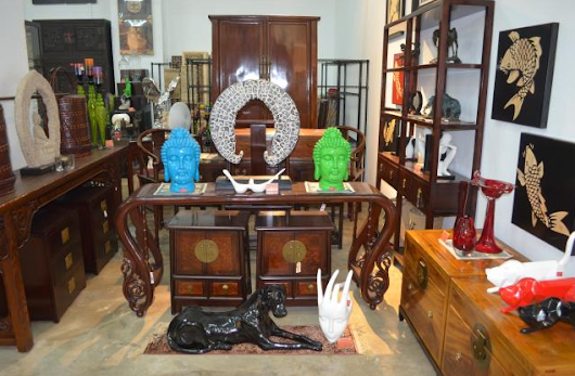 Red House Carved Furniture - Antique Furniture - UsedFurnitureSingapore.net