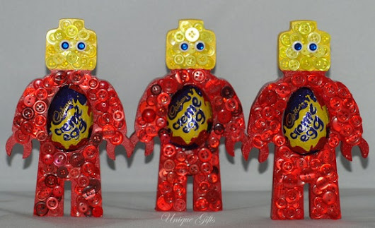 Easter google easter gift egg holder lego man button art standing lego man negle Choice Image