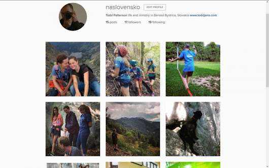We Have an Instagram Account – naSlovensko