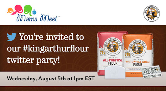 You're invited to our #kingarthurflour twitter party! | Moms Meet