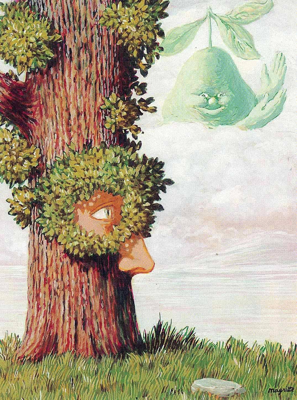 Alice in Wonderland, 1945 Rene Magritte