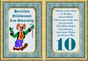 Glückwünsche Zum 10 Geburtstag Mädchen Hylen Maddawards Com