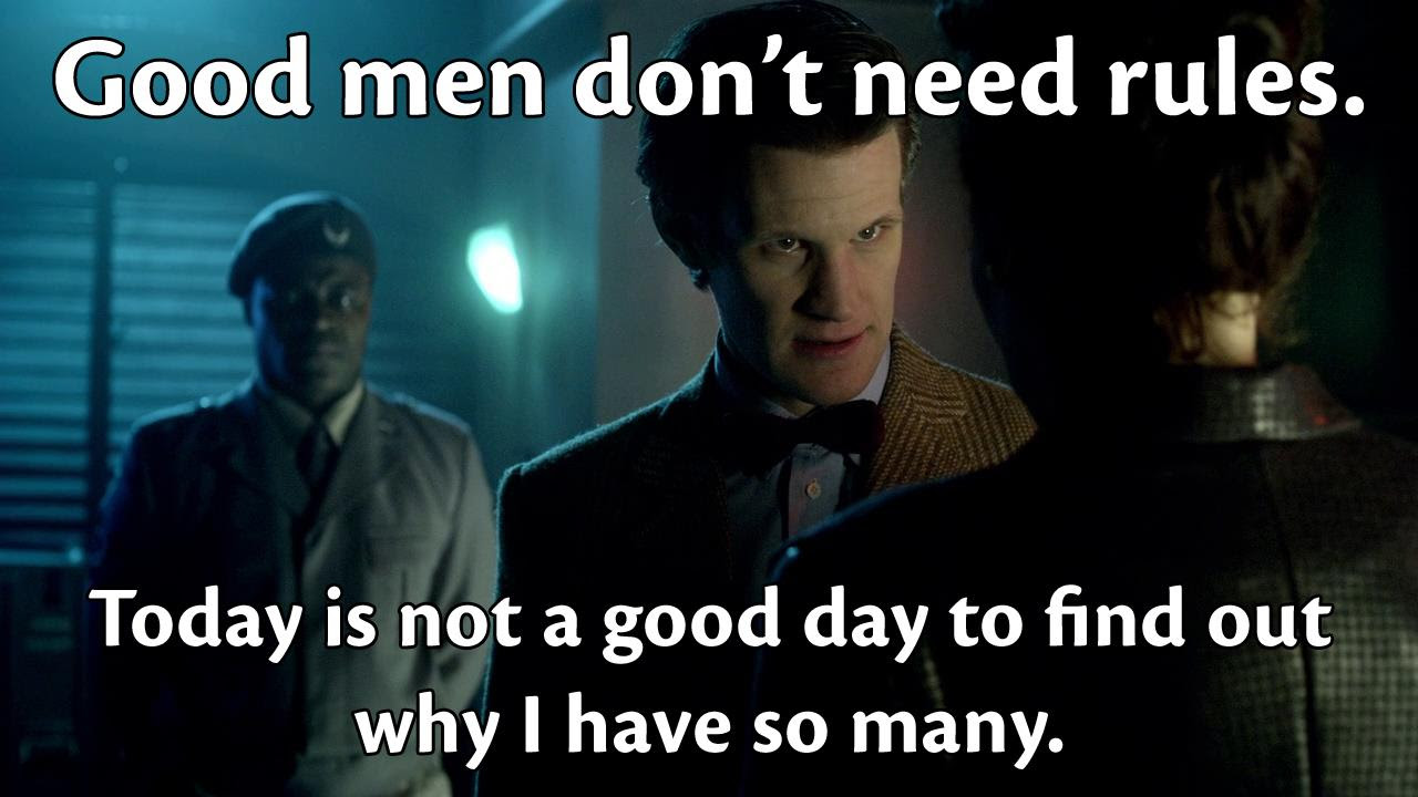 What Quotes From The Show The Doctor Or Anyone Else Gave You