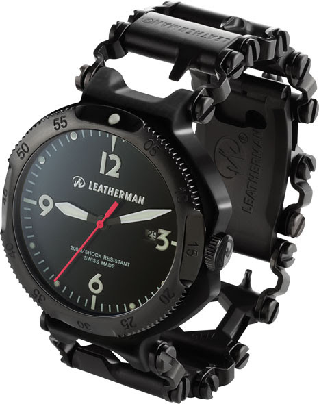 Leatherman Tread Multi-Tool Bracelet - and a Watch Too!