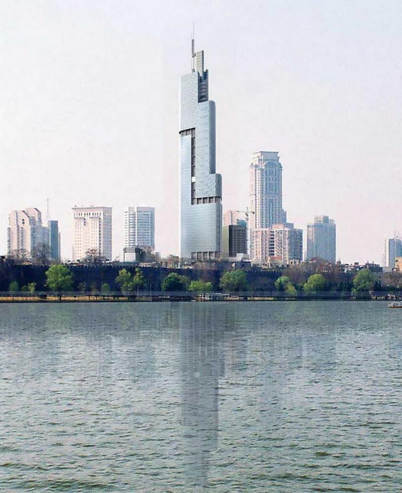 Zifeng Tower Nanjing China Photo Gallery World