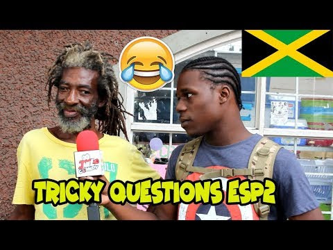 Trick Questions In Jamaica Episode 2 - Spanish Town - Jamaican Videos
