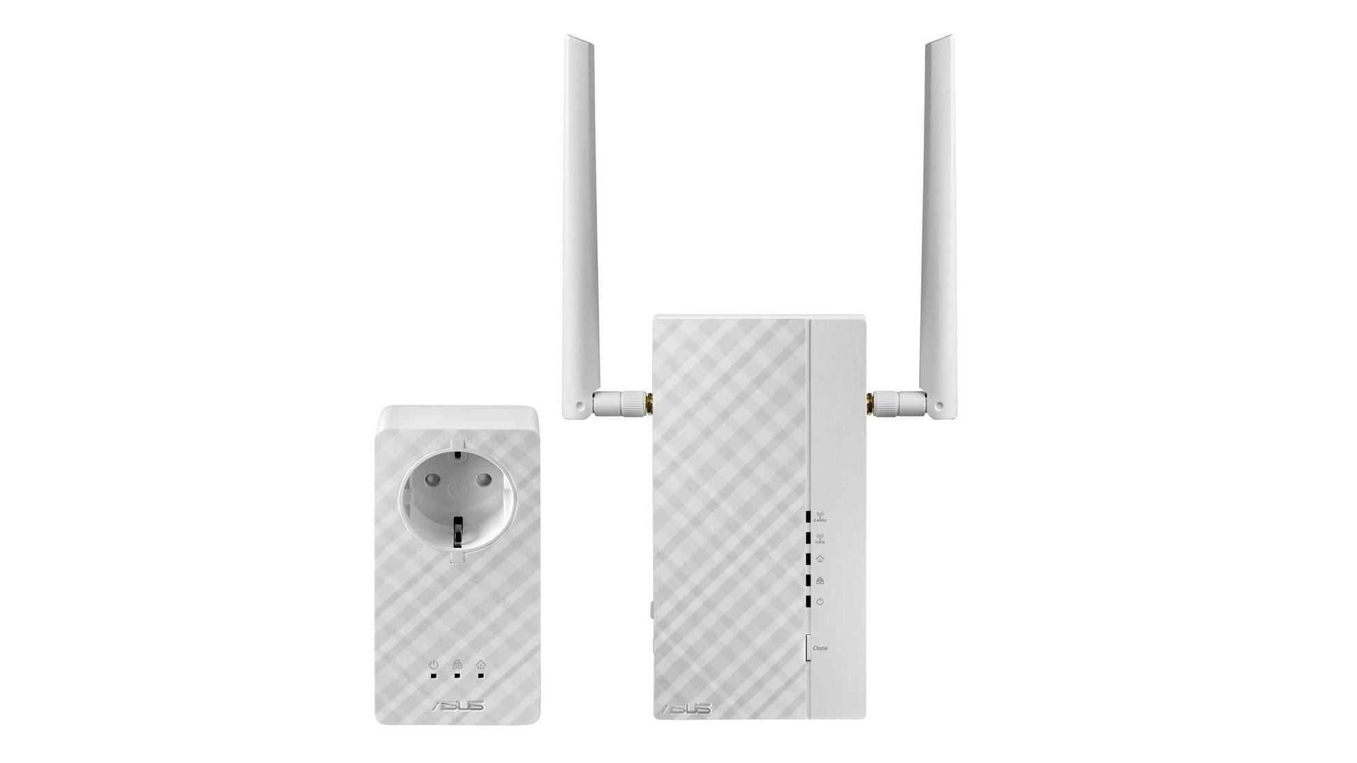 Asus 1200Mbps AV2 1200 Wi-Fi Powerline Adapter