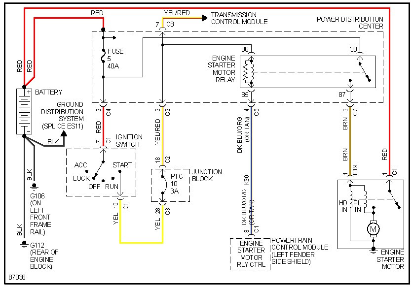 27 Mopar Starter Relay Wiring Diagram