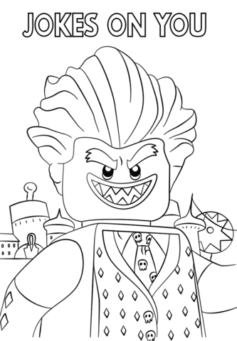 Draw Samples Batman Lego Movie Coloring Pages