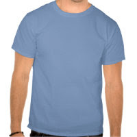 Light Blue Camouflage Pattern T Shirts
