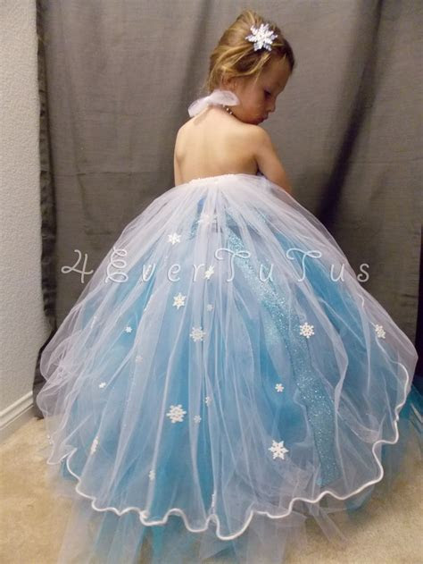 "Queen Elsa ""Frozen"" Inspired Tutu Dress   cute   Princess"
