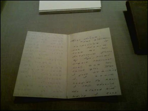 New York Botanical Garden - Emily Dickinson Garden - letter to mabel loomis todd