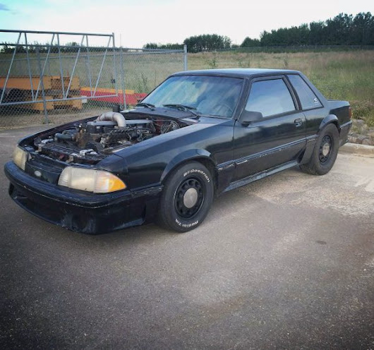 1988 Mustang with a Turbo Diesel Inline-Six – Engine Swap Depot