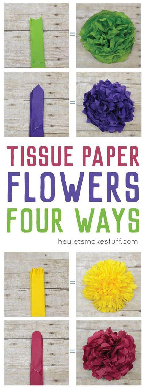 25  best ideas about Tissue paper centerpieces on