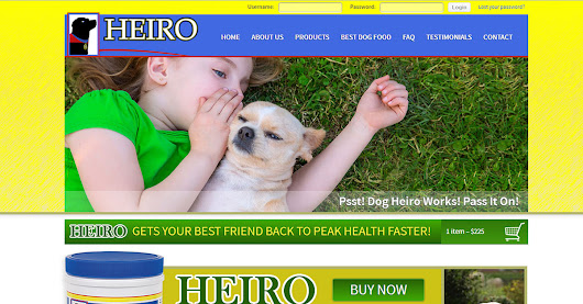 Reviews - HEIRO for Dogs