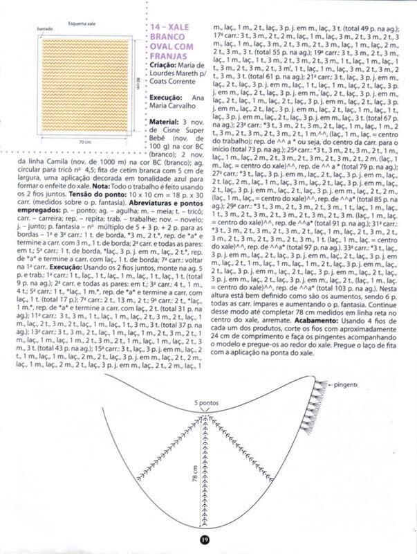 Tricot Especial Mantas: Croche & Trico № 42