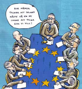 EU:s syn på medlemsdemokrati